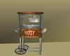 animated popcorn machine