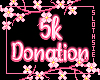 🦥 5k Donation Support