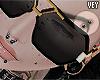 *V Brow Black piercings.