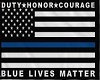 Blue lives  matter Banne