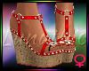 ! A Summer Sandals Red