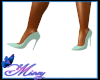 Kaylie Mint Green Heels