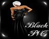 [FS] Black Pvc Dress