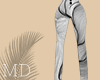 Line Mess Pants