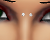 upper nose piercing silv