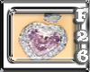 pink diamond heart BBR