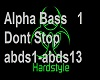 Alpha Bass-Dont Stop