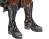 dark kilt boot