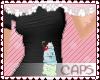 !CAPS ice cream | black