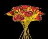 Roses Red/Golden
