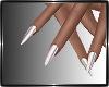 Sency White Nails
