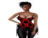 Checkered corset