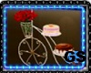 GS BICYCLE CAKES & ROSES