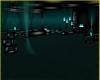 Black Teal Room