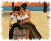 ! Pirate barrel kiss
