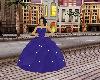 Purple Glittery Ballgown