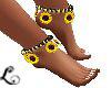 xo*Sassy Sunflowers Ankl
