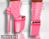 Boots -Pinky