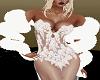 White Boa Fur