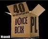 40 SAMPLES VOICE BOX PL