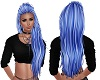 blue modern long hair