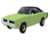 1969 Lime Charger  /Pose
