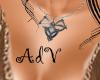 Harem silver Necklace