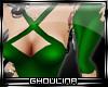 G}Holiday Pin Up- Green