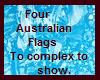 5 Australian Flags