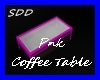 Pnk Chill Coffee Table