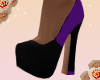 {L4} purple pop heels