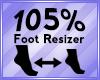 Foot Scaler 105%