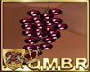 QMBR Earrings Grapes