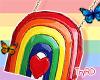 🦋 Cute rainbow purse