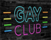 Neon Gay club sign