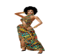 AFRICAN ELEGANCE GOWN