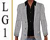 LG1 Gray Blazr Blk Shirt