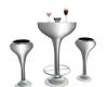 Unison Silver Club Table