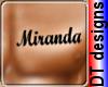 Miranda chest tattoo