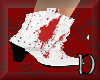 Zombie cheer boots