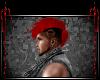Mohawk Skull {Red}