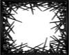 Black Spiked Frame