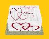 Deo & Kisin Engage Cake