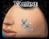 Val - White Face Tape M