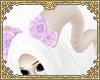 ☽ lilac rose horns 1