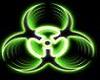 toxic green rave mask