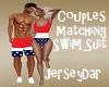 Couples Swim Trunks