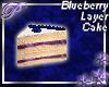 ~P~Blueberry Cake Slice