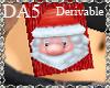 (A) Santa Scarf M