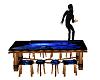 Blue Roze Dance Table